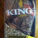 NEW KING'S CAMO WOODLAND SHADOW CAMO SEAT COVER - UNIVERSAL BUCKET- One Cover