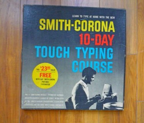 SMITH CORONA 10 DAY TOUCH TYPING COURSE Two LPs