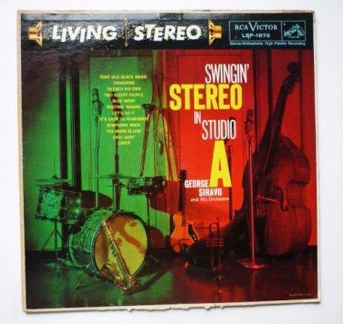 Swingin Stereo in Studio A lp - George Siravo lsp-1970