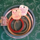 Mixed Lot Of Round Embroidery Hoops Frames Cross Stitch New Berlin + Westex +