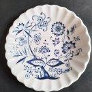 Vintage J&G Meakin Blue Nordic Onion Pattern Vegetable Serving Bowl 8 1/4 Inch