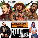 NEW SUMMER 2019 Hip-Hop Rap & RnB 130 Music Videos (4 DVD Package) Ft. Cardi B, Dj Khaled + More...
