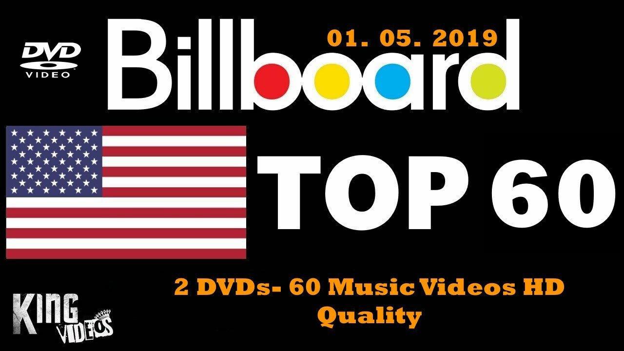 NEW 2019 60 PoP/Club MUSIC VIDEOS 2 DVDs ft. Halsey, Jonas Brothers, Ariana Grande, Lady Gaga + more