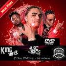 April 2019 Rap HipHop & RnB 62 Music Videos 2 DVDs - Meek Mill Migos Lil Pump YG