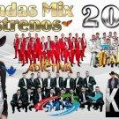 2018 Banda Music Videos HD 2 DVDs FT Recoditos La Arrolladora El Recodo BANDA MS