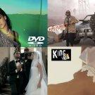 102 Hip Hop RAP & RnB Music Videos Rihanna Drake WEEKND Future Kevin Gates 4DVDs