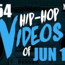 2017 RAP HIPHOP & RnB 54 MUSIC VIDEOS 2 DVDs Yo Gotti Tyga Rick Ross Chris Brown