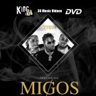 MIGOS MUSIC VIDEO Collection DVD feat. 21 Savage, 2 Chainz, Gucci Mane, Cardi B