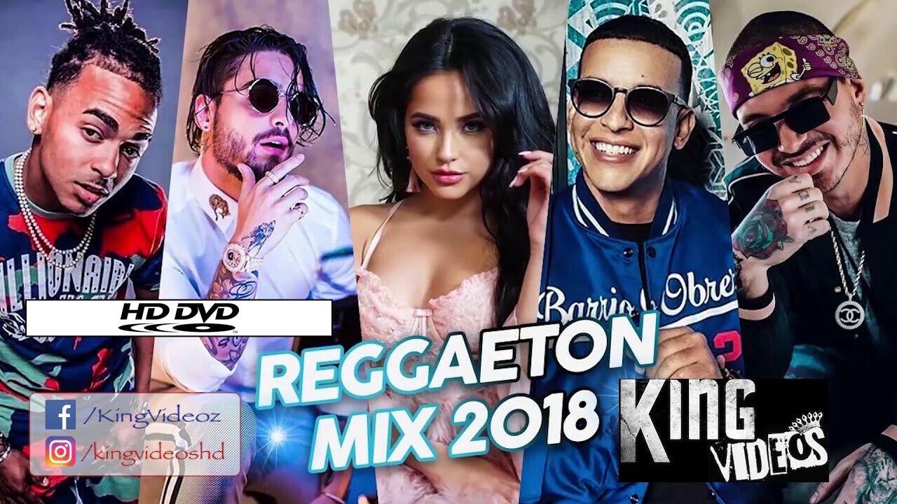JUN 2018 REGGAETON 55 Music Videos/2 DVDs LA PLAYER Hielo TE BOTE Madura EQUIS X