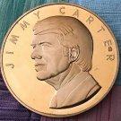 Franklin Mint Bronze Medallion - President Jimmy Carter Inauguration 1977