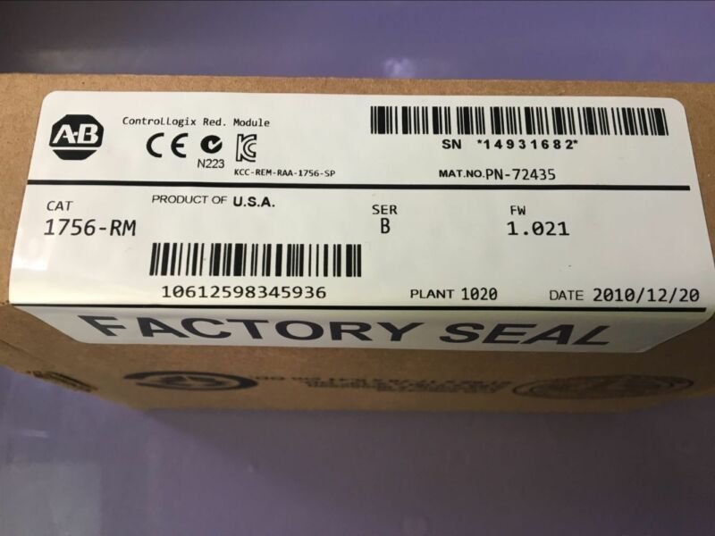 Allen-Bradley 1756-RM New In Box 1PCS
