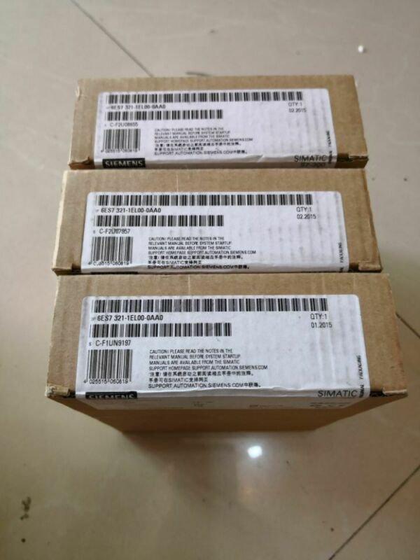 SIEMENS 6ES7321-1EL00-0AA0 6ES7 321-1EL00-0AA0 New In Box 1PCS More Than 10pcs