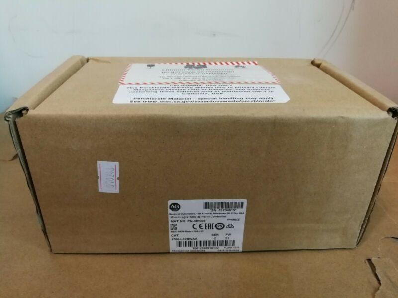 NEW FACTORY SEALED ALLEN BRADLEY 1766-L32BWAA MICROLOGIX 1400 FREE SHIPPING