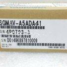 NEW YASKAWA AC SERVO MOTOR SGMAV-A5ADA41 SGMAVA5ADA41 FREE EXPEDITED SHIPPING