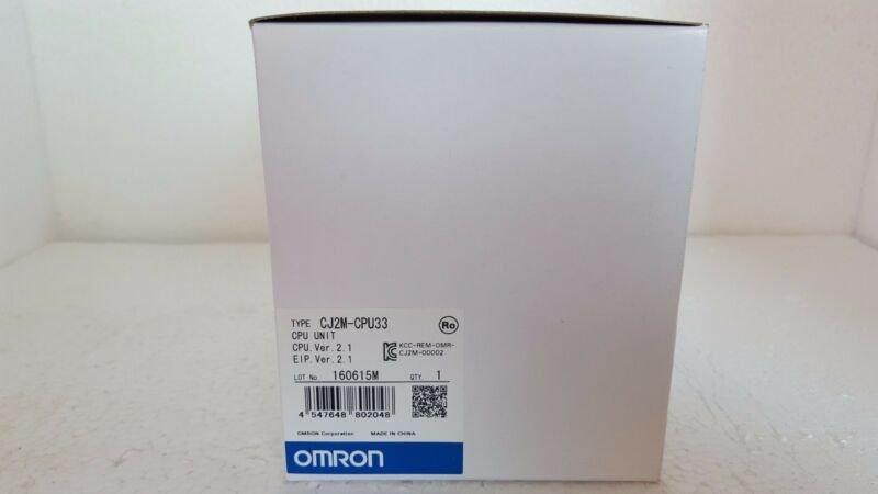 NEW ORIGINAL OMRON CPU UNIT CJ2M-CPU33 CJ2MCPU33 FREE EXPEDITED SHIPPING