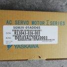 1PC YASKAWA AC SERVO MOTOR SGMJV-01ADD6S NEW ORIGINAL FREE EXPEDITED SHIPPING