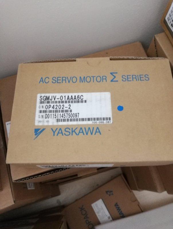 YASKAWA AC SERVO MOTOR SGMJV-01AAA6C SGMJV01AAA6C NEW FREE EXPEDITED SHIPPING