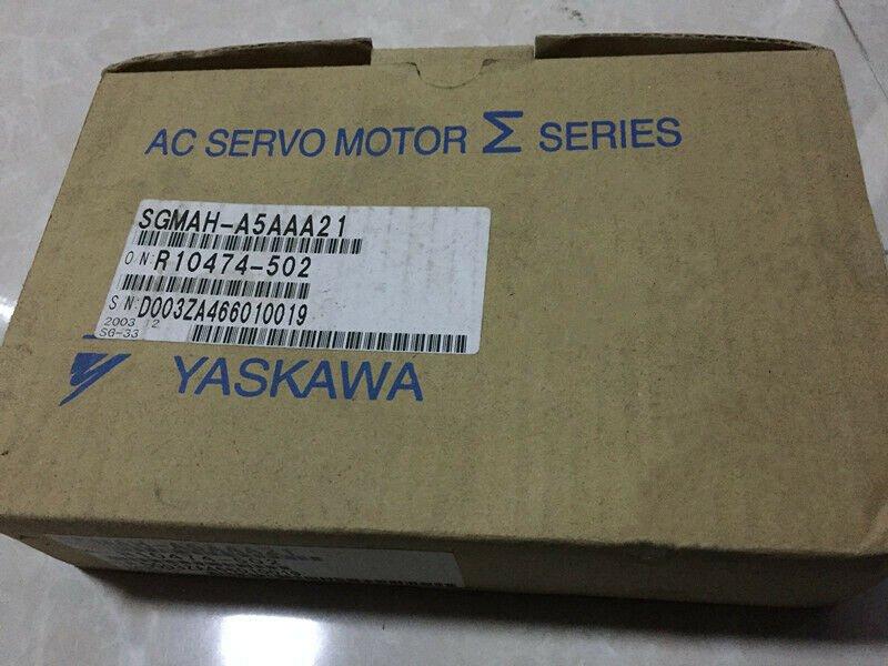 1PC YASKAWA AC SERVO MOTOR SGMAH-A5AAA21 NEW ORIGINAL FREE EXPEDITED SHIPPING