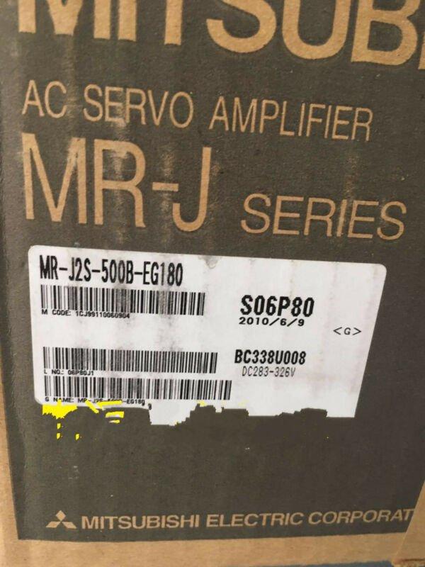 1PC MITSUBISHI AC SERVO DRIVER MR-J2S-500B-EG180 NEW ORIGINAL