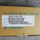 1PC YASKAWA AC SERVO MOTOR SGM-01A312B NEW ORIGINAL FREE EXPEDITED SHIPPING