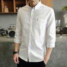 Mens Big Size Short Sleeve Summer Shirts