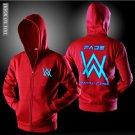 Allen Walker chain sweater luminous hooded sweater