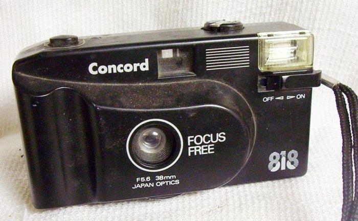 Concord 818 Focus Free 35mm Camera