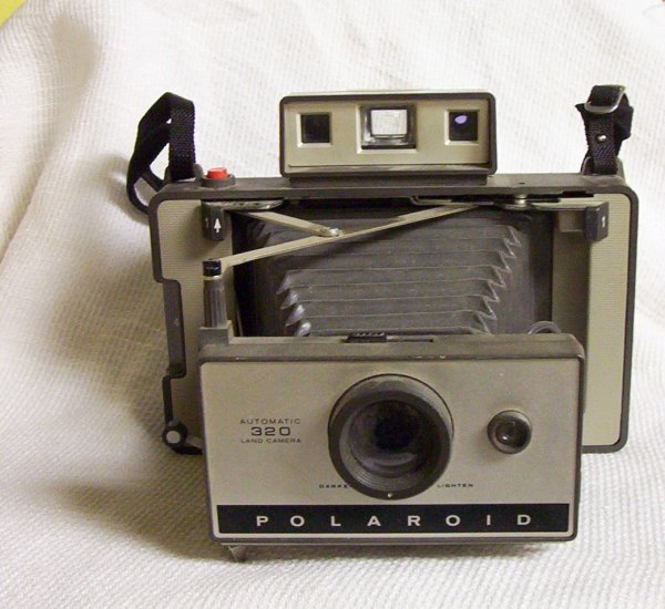 Polaroid Vintage 320 Land Camera  (No Cover) [1969]