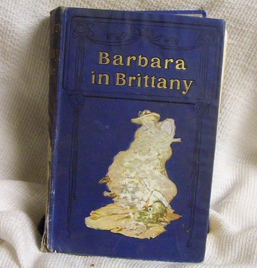 Barbara in Brittany by E.A. Gibble circa 1905