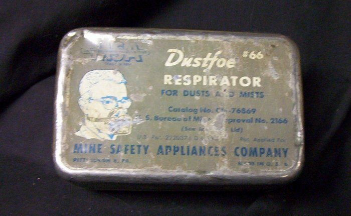 Dustfoe #66 Respirator for Dusts and Mists