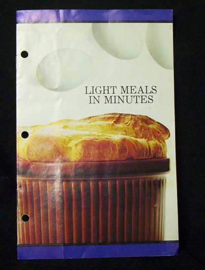 Light Meals in Minutes (BC Egg Marketing Board)
