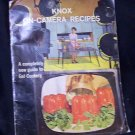 Knox On-Camera Recipes ~ Vintage  (1962)