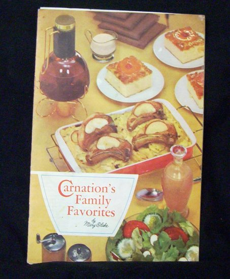 Carnation Family Favorites Booklet By Mary Blake 1957