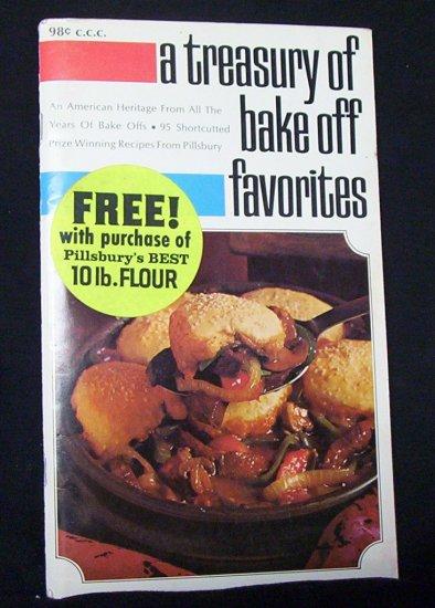 A Treasury of Bake Off Favorites (Pillsbury) 1969