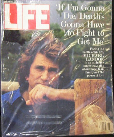 LIFE MAGAZINE June 1991 Michael Landon