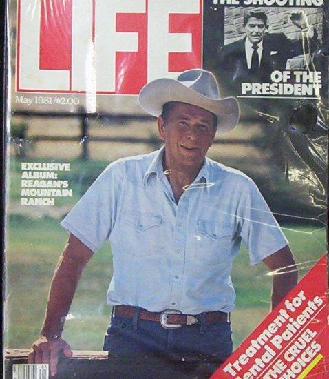LIFE MAGAZINE May 1981 Ronald Reagan