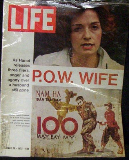 LIFE MAGAZINE Sept. 29th1972 P.O.W. Wife