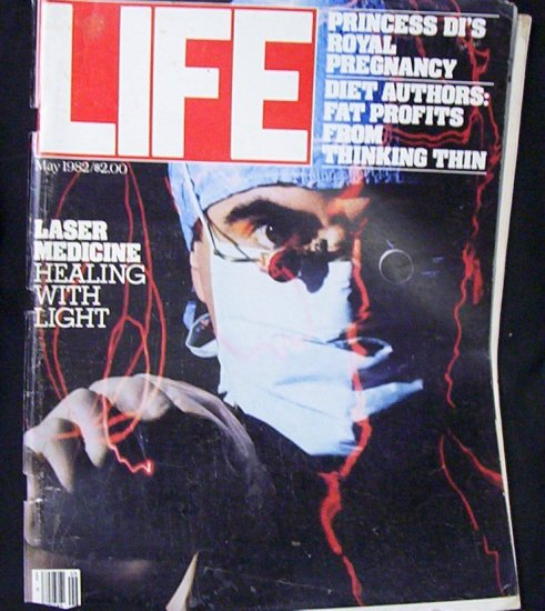 LIFE MAGAZINE May 1982 Laser Medicine (Healing with Light)