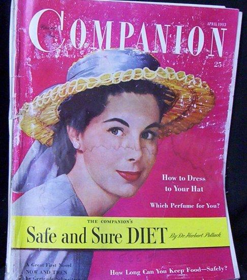 Woman's Home Companion April 1953 Safe and Sure Diet