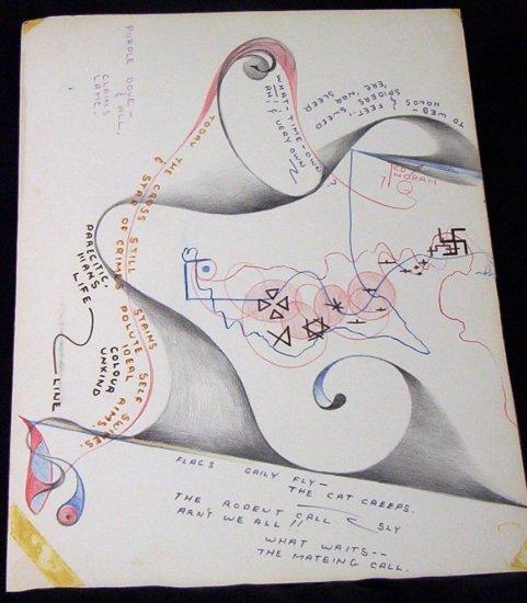 The Rodent Call Arthur (Ted) Ingram Original Artwork 1971