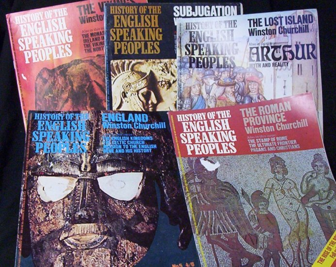 History of the English Speaking Peoples (5 Mags - 1969)
