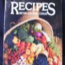 Recipes of British Columbia, Canada 1984