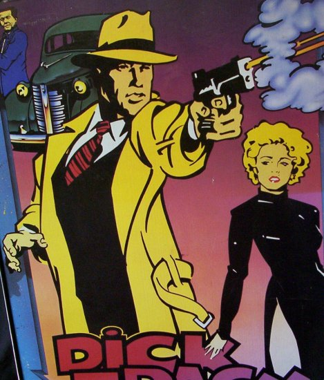 Dick Tracy Poster - Warren Beatty and Madonna