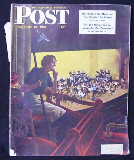 Saturday Evening Post  Jan. 13 1951