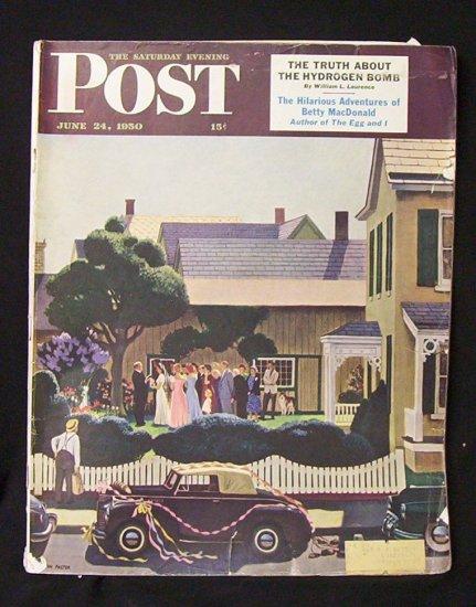 Saturday Evening Post  June 24, 1950