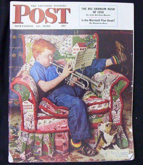 Saturday Evening Post  November 18, 1950