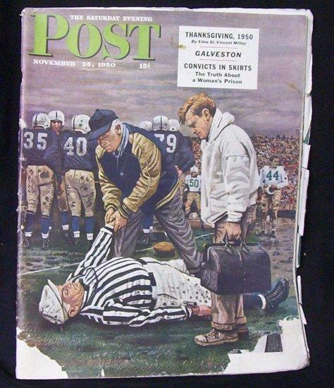 Saturday Evening Post  November 25, 1950