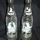 Vintage Sun Crest Glass Pop Bottles 10 oz. (5)