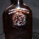 Opaque Brown Glass Mickey with Top 'AA' - 1953