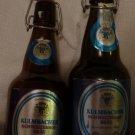 2 KULMBACHER SCHWEIZERHOFBRAU BEER BOTTLES